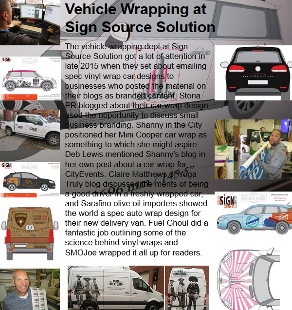 Vehicle Wrapping at Sign Source Solution
