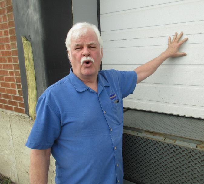 Brian Mcleish at Garage Door, Security Guru